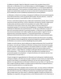 dissertation referendum sous 5eme republique
