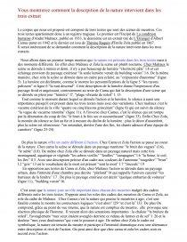 dissertation de la condition humaine de malraux