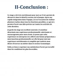 Rapport De Stage La Banque Populaire Rapport De Stage