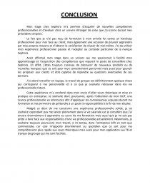 Rapport De Stage Sephora Rapport De Stage Malenza