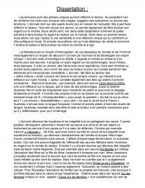 dissertation pot bouille