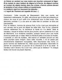 Resume de la chevelure de maupassant thesis paper introduction examples